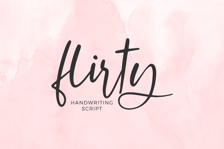 Flirty Script example image 1