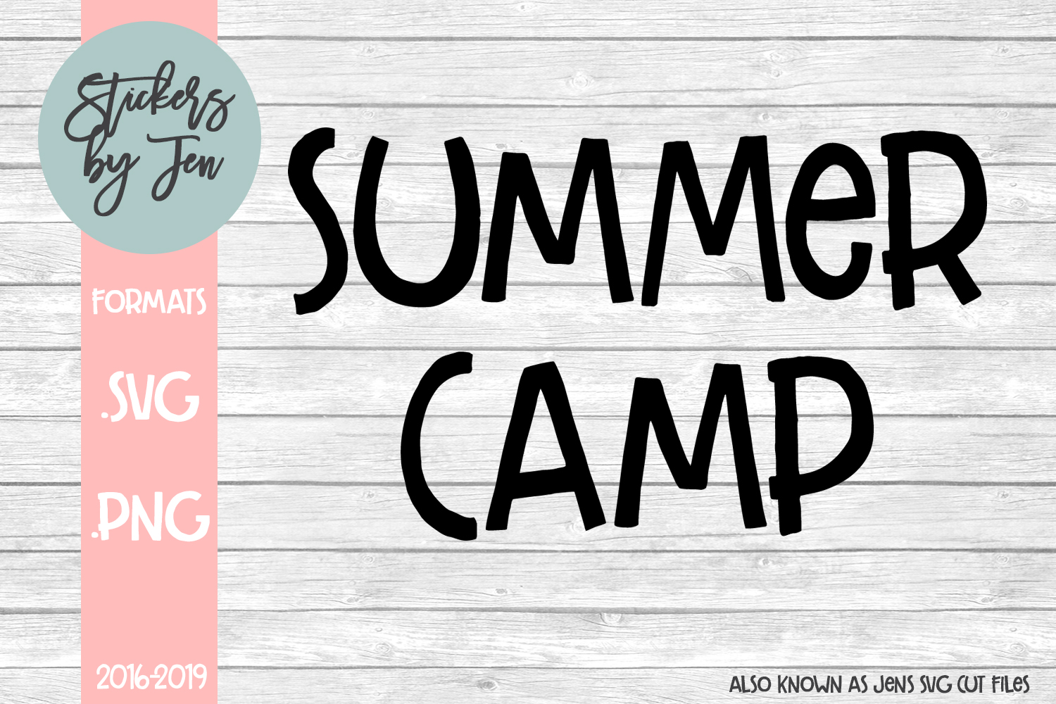 Summer Camp svg cut file example image 1