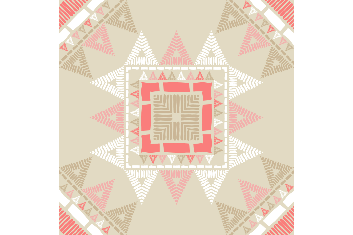 Ethnic boho ornament. Set of 10 seamless patterns. example image 5