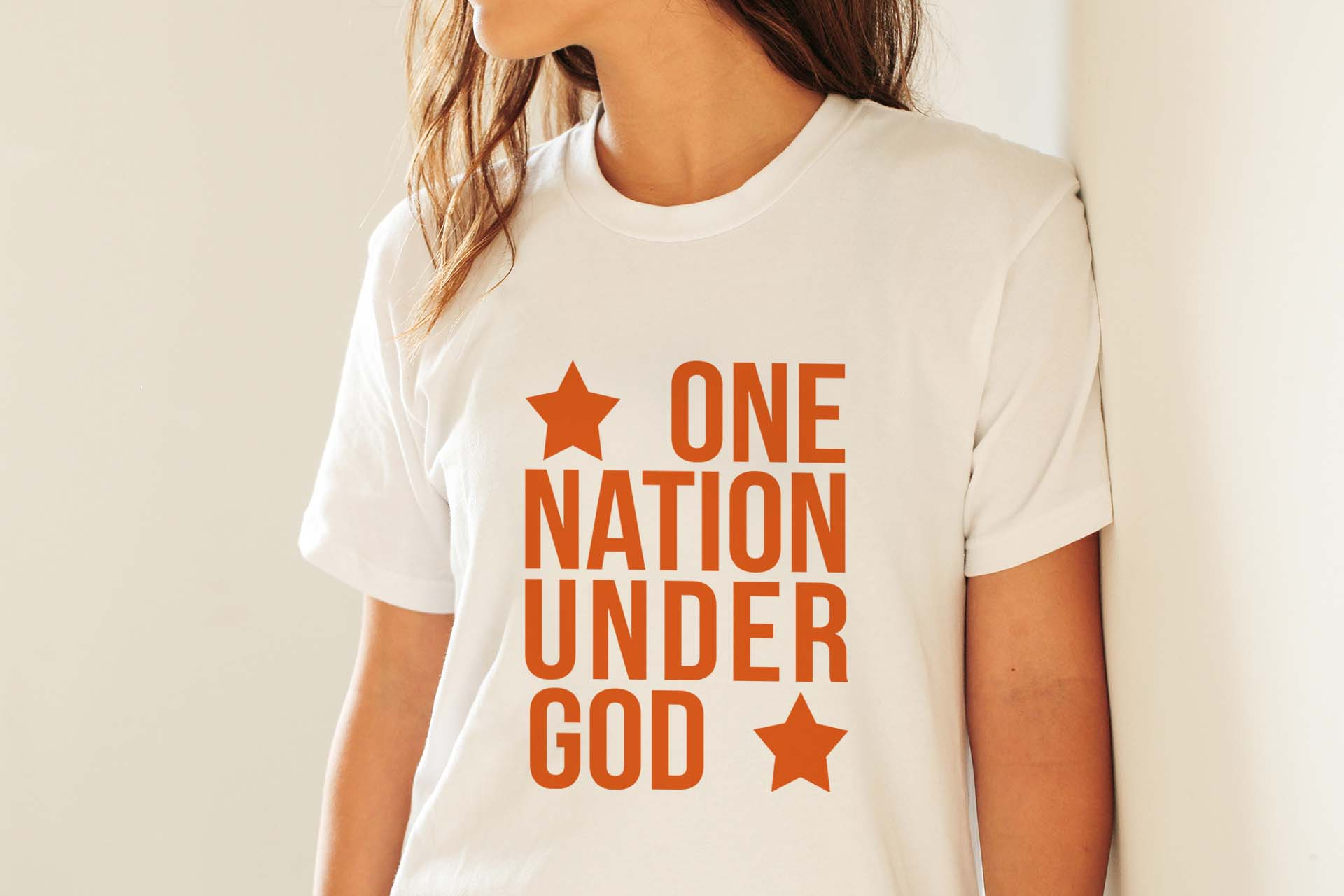 One nation under God SVG PNG EPS DXF 4th of July svg Patriotic svg file example image 5