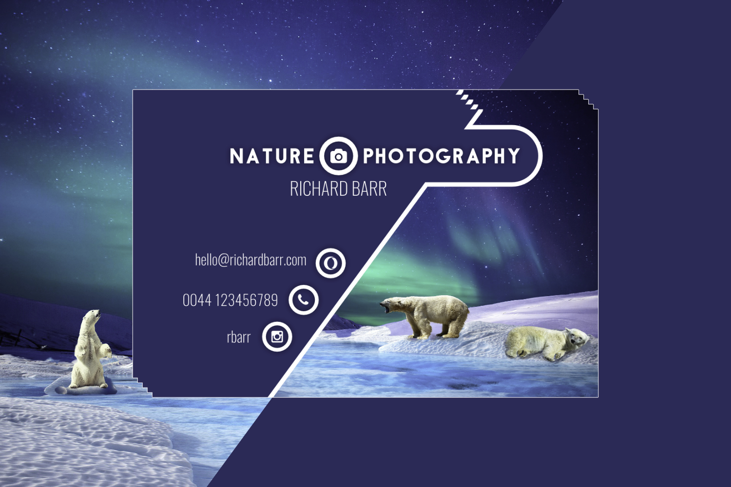 Nature Photography Business Card Set example image 4