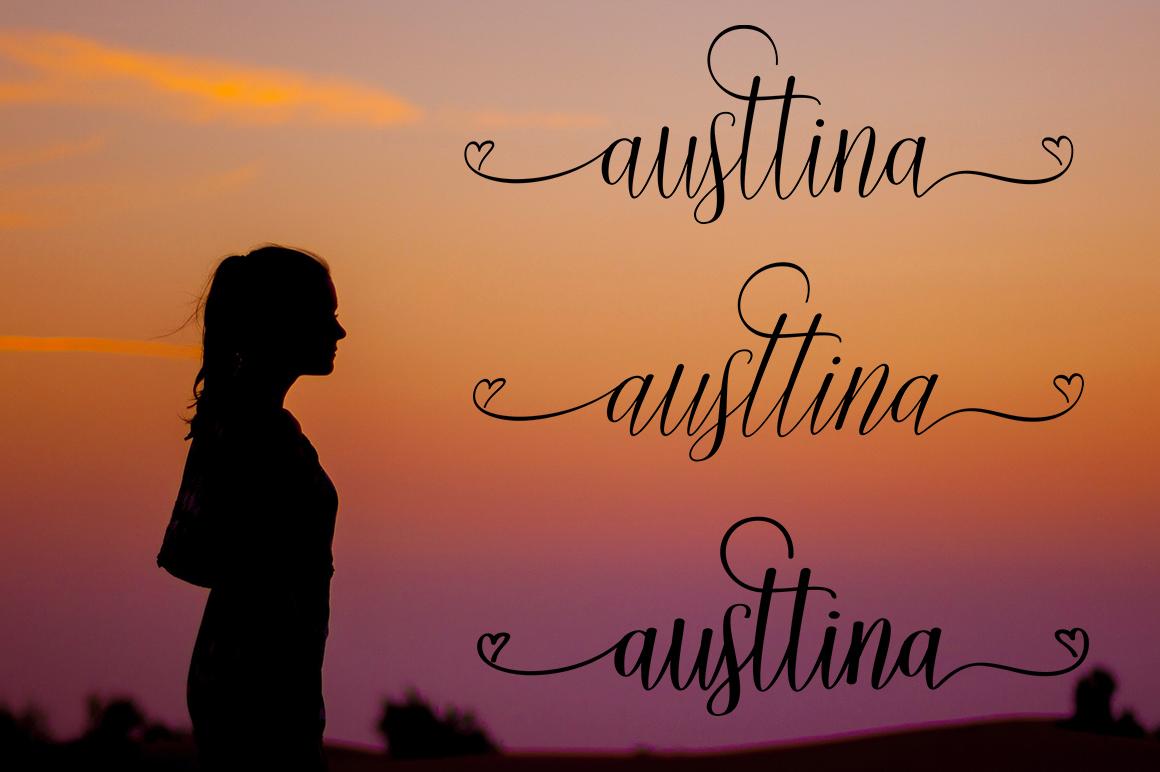 Austtina script example image 3