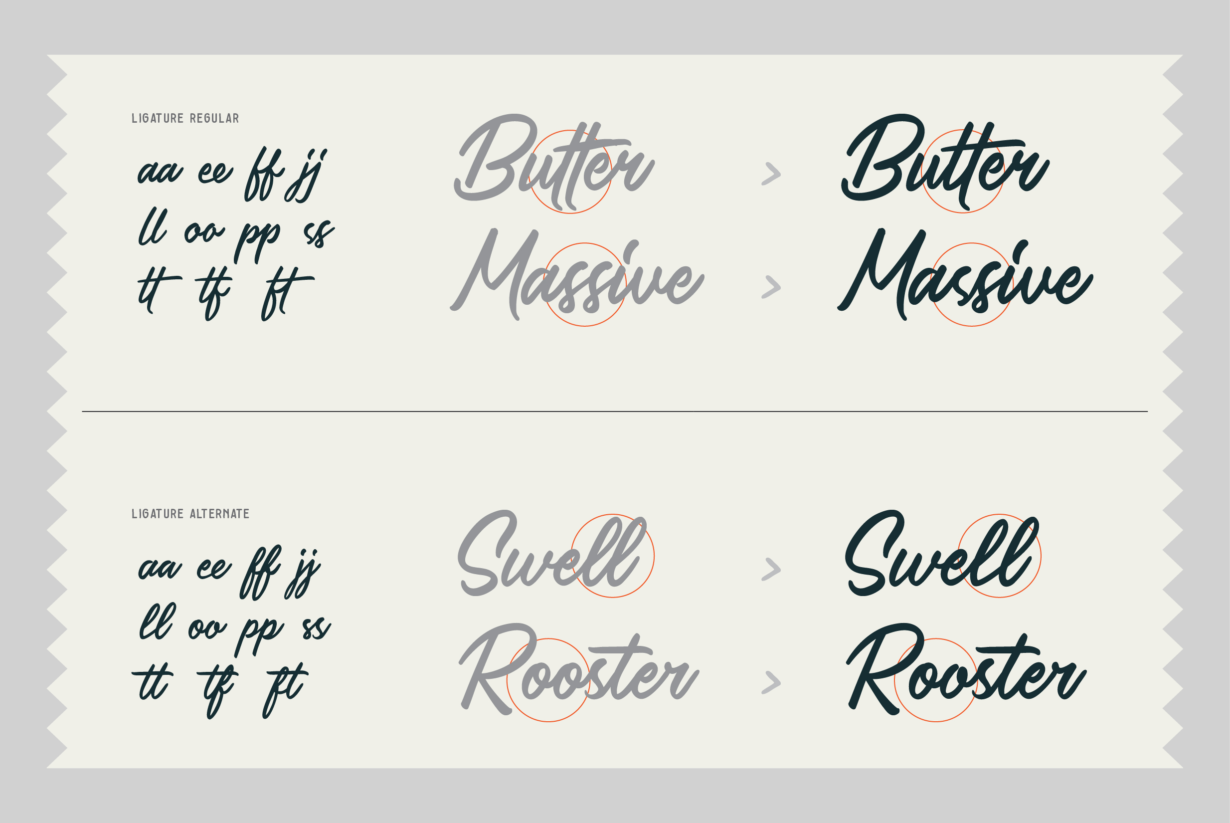 Saltery Brush Font example image 2