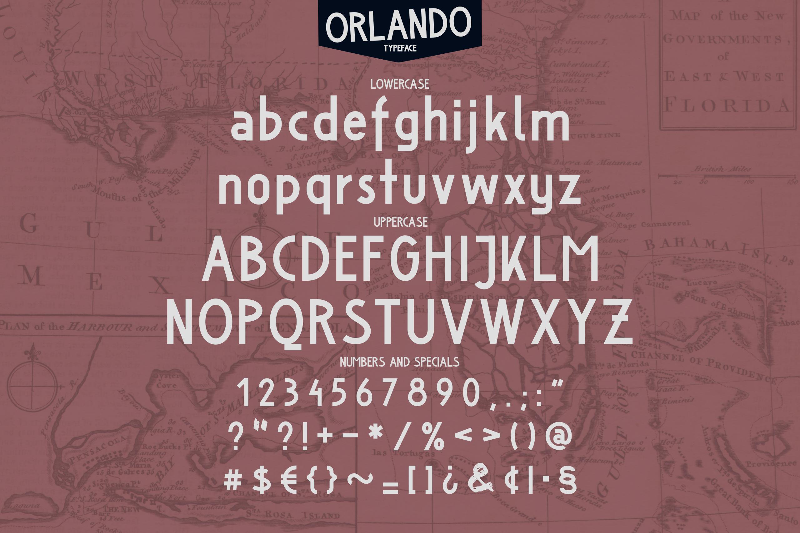 Orlando Font example image 2