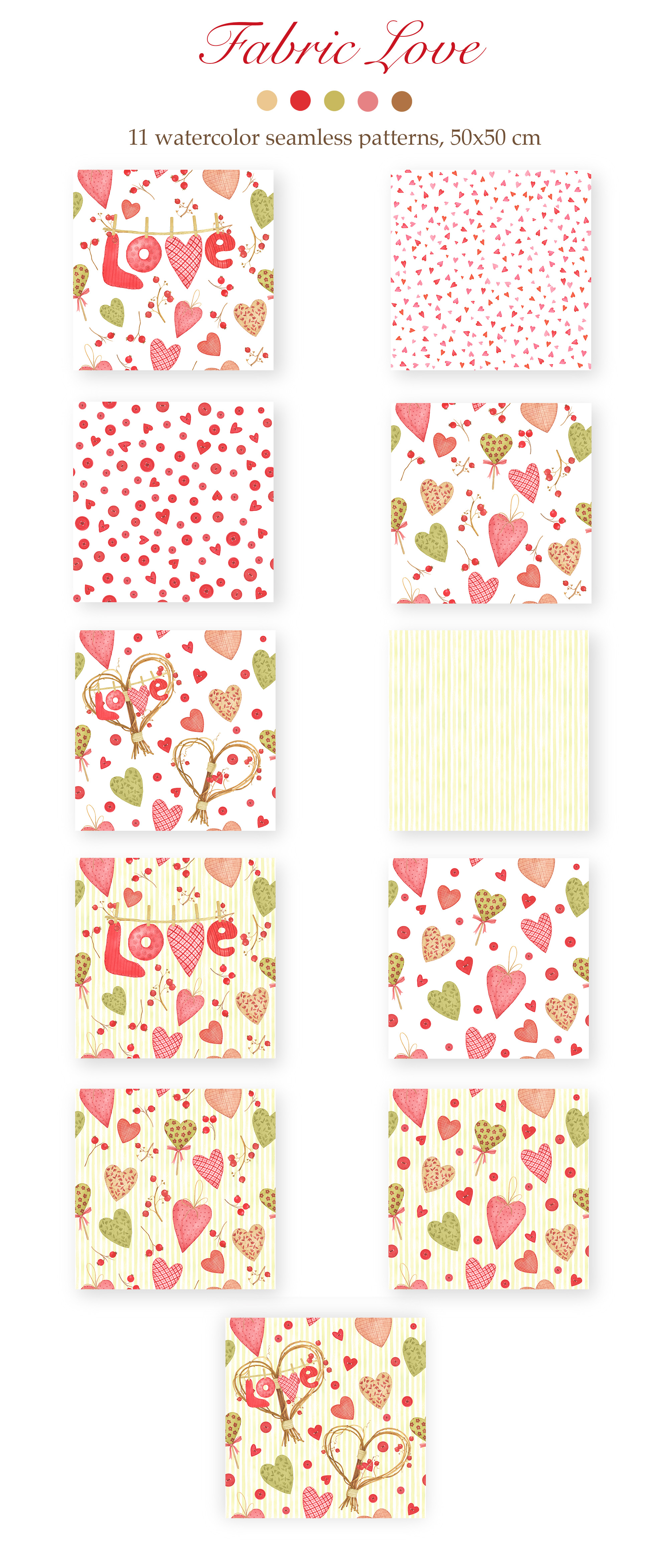 Valentine's Day Patterns example image 2