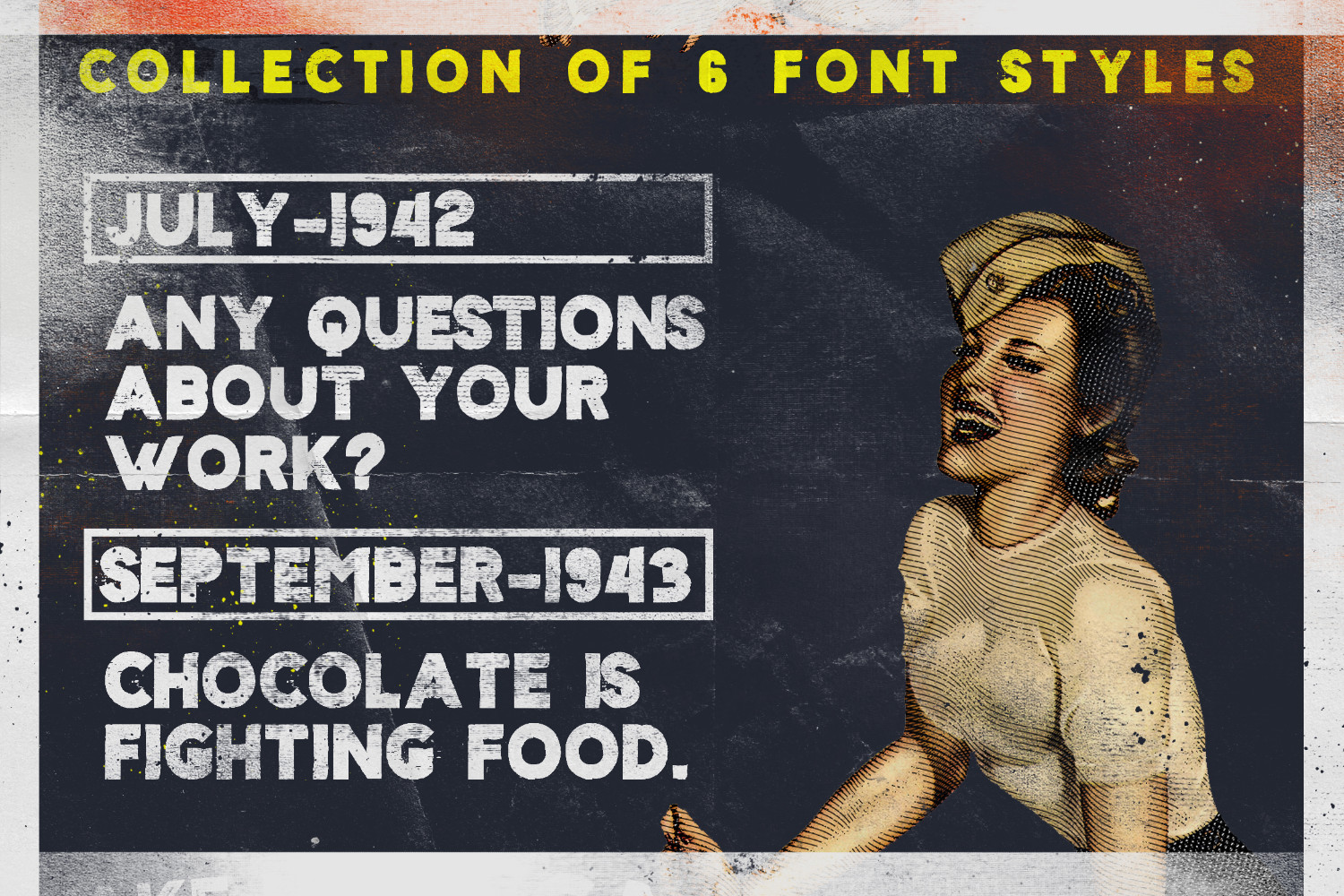Sign '45 Typeface example image 2