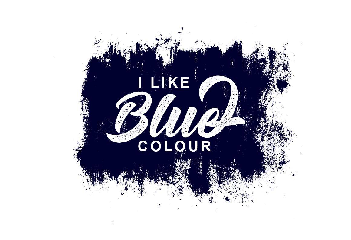 Big Blue Type Trio example image 9