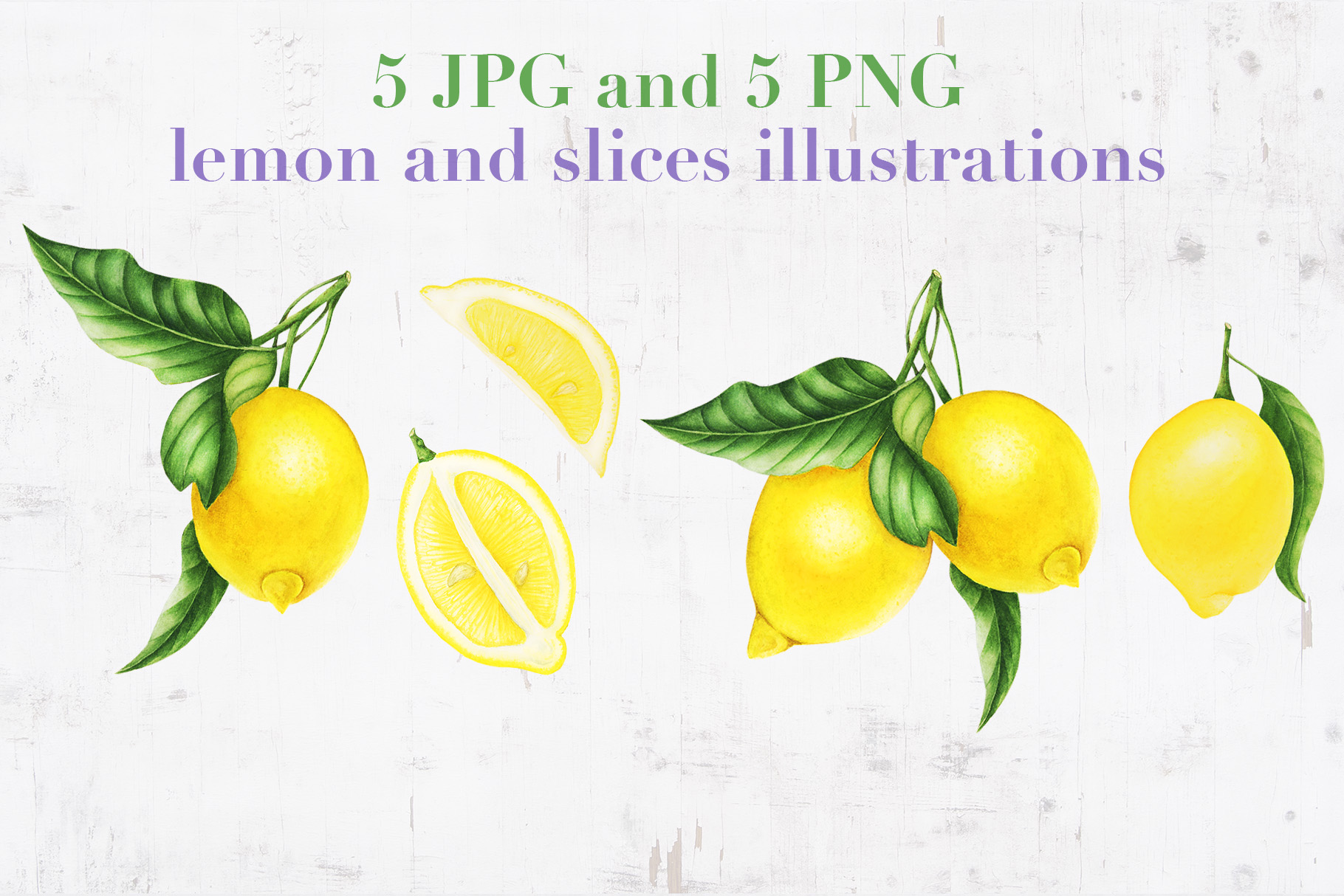 Provence. Lemons and lavender. example image 3