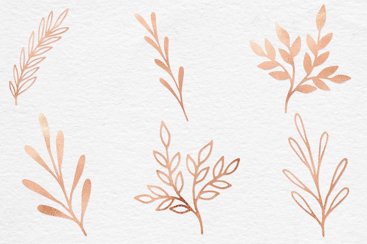 Hand Painted Copper Plants example image 6