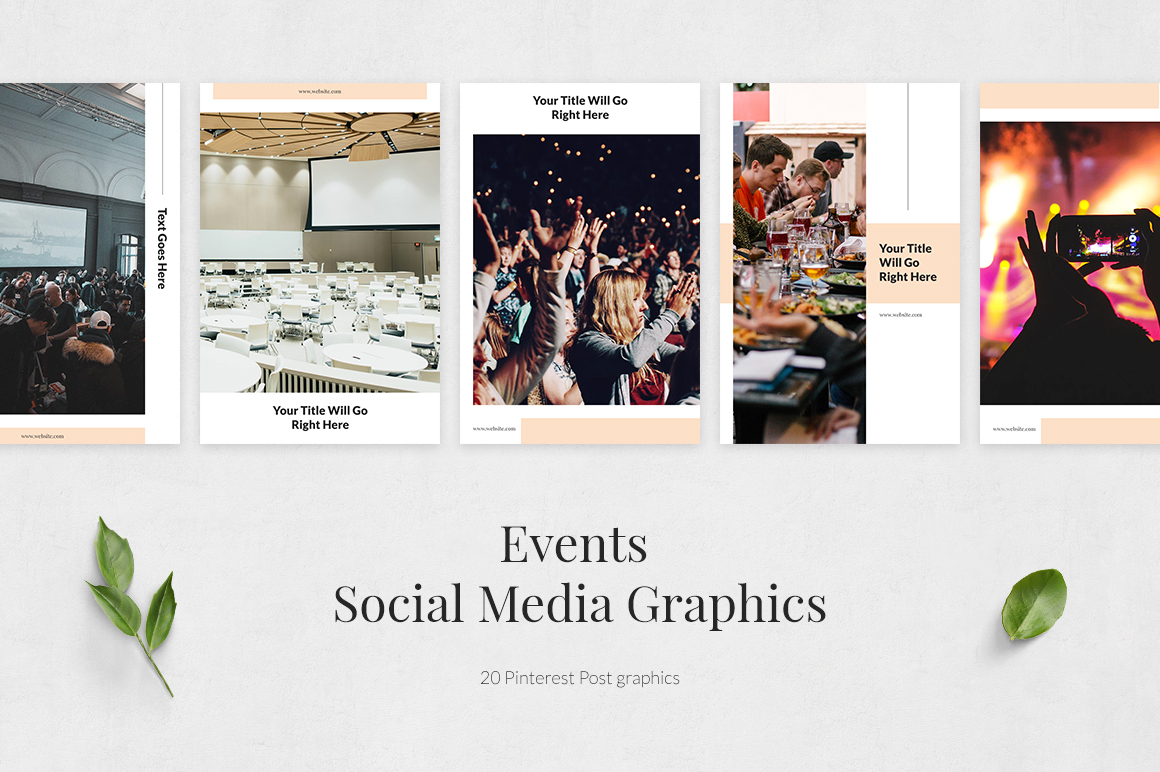 Events Pinterest Posts example image 2