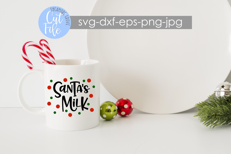 Santa's Milk | Christmas SVG example image 2