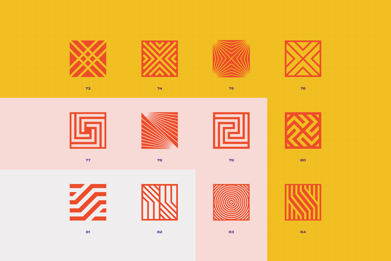 96 Geometric shapes & logo marks VOL.2 example image 19