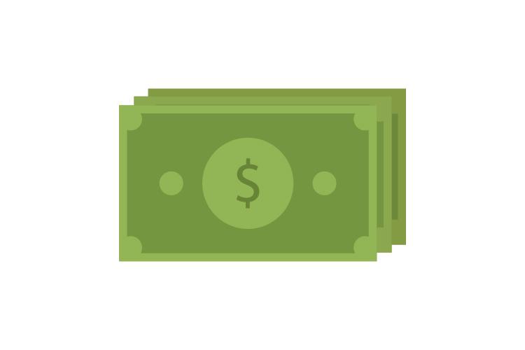 Money icon example image 1