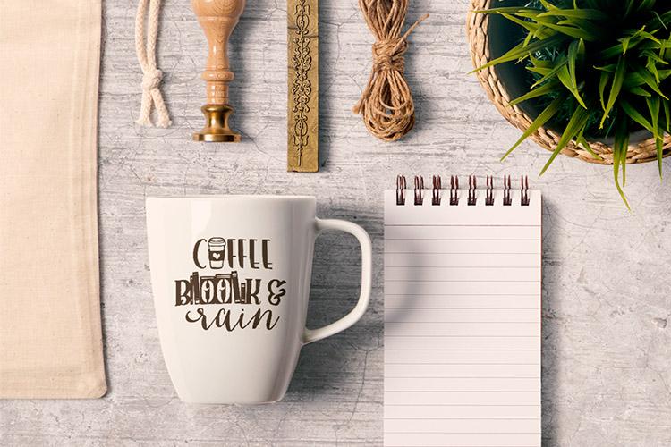 Coffee Themed Bundle example image 3
