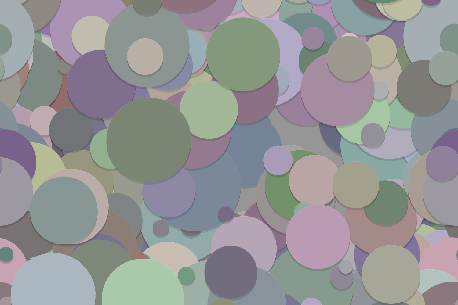 40 Seamless Circle Backgrounds (AI, EPS, JPG 5000x5000) example image 4