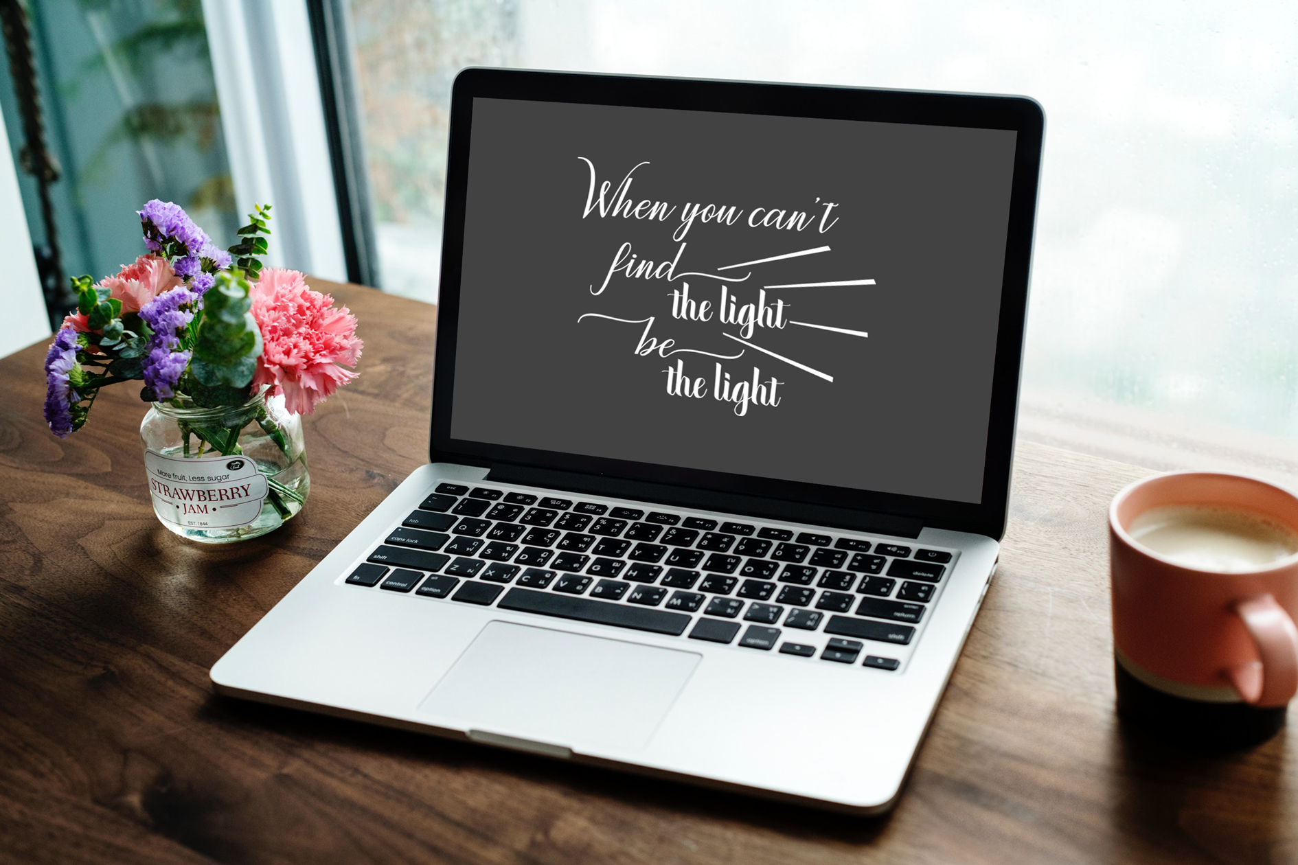 Find the light, be the light, A Motivational SVG Cut File example image 6