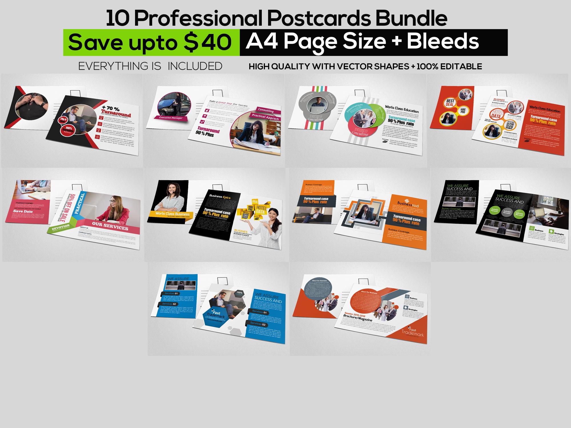 115 Mix Print Template Mega Bundle / Low Priced example image 12