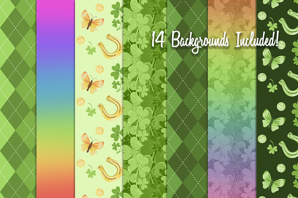 St. Patrick's Day Graphics Collection example image 2