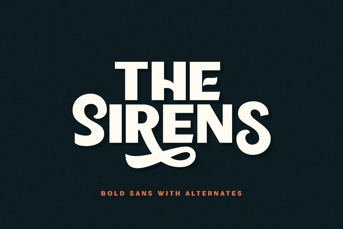 Sirens - Bold Sans example image 2