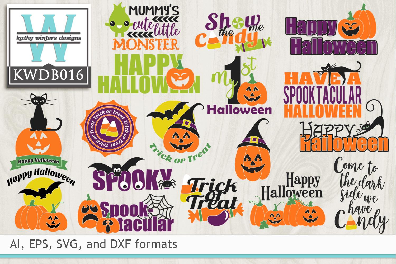 BUNDLED Halloween Cutting Files KWDB016 example image 1