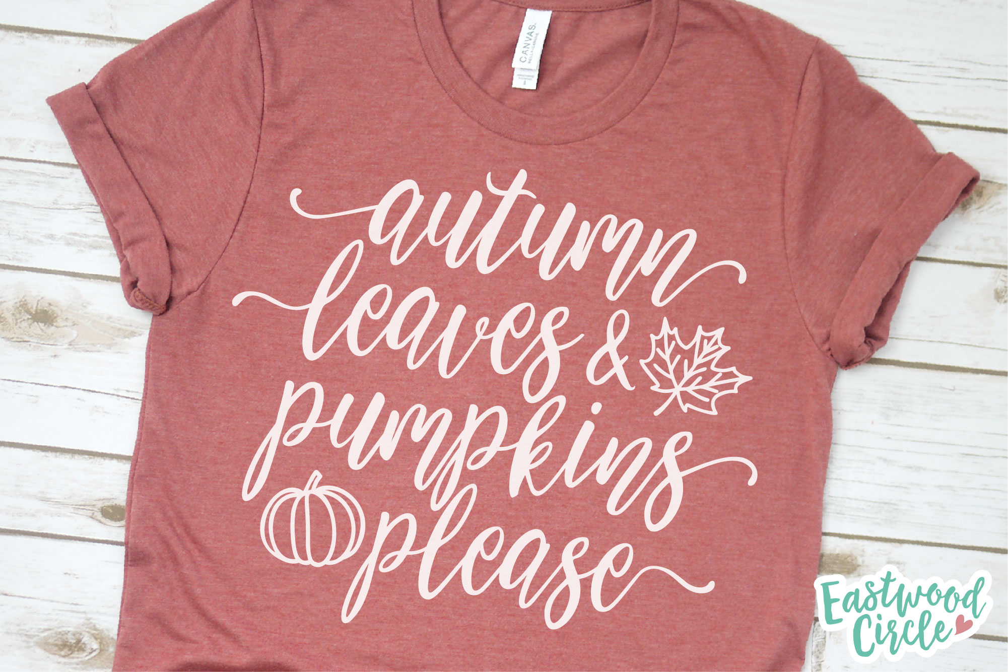 Fall SVG Bundle - Cut Files for Shirts example image 2