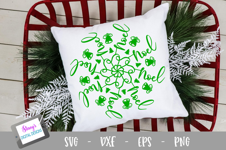 Mandala SVG - Noel mandala svg - Christmas SVG example image 1