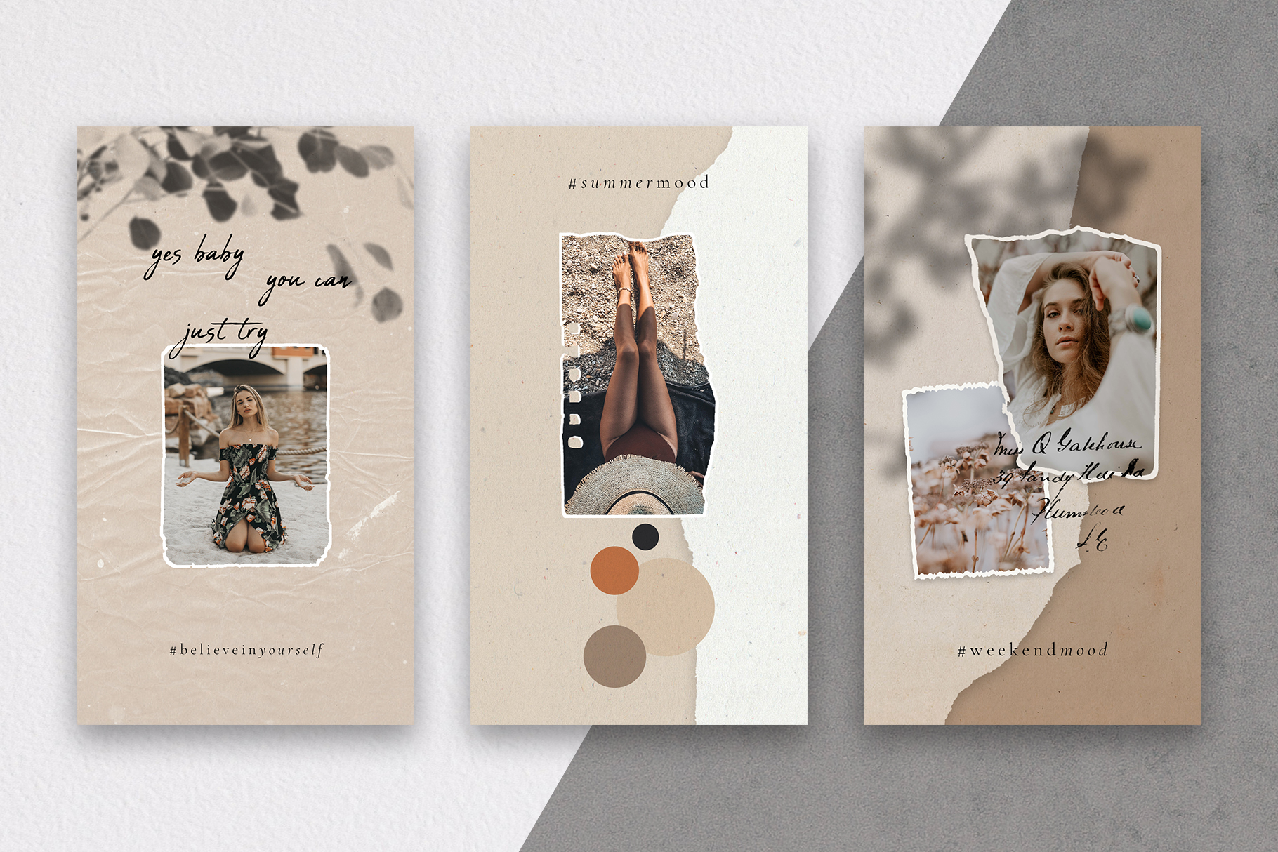 #InstaBabe - Creative & Modern Instagram Story Templates example image 7