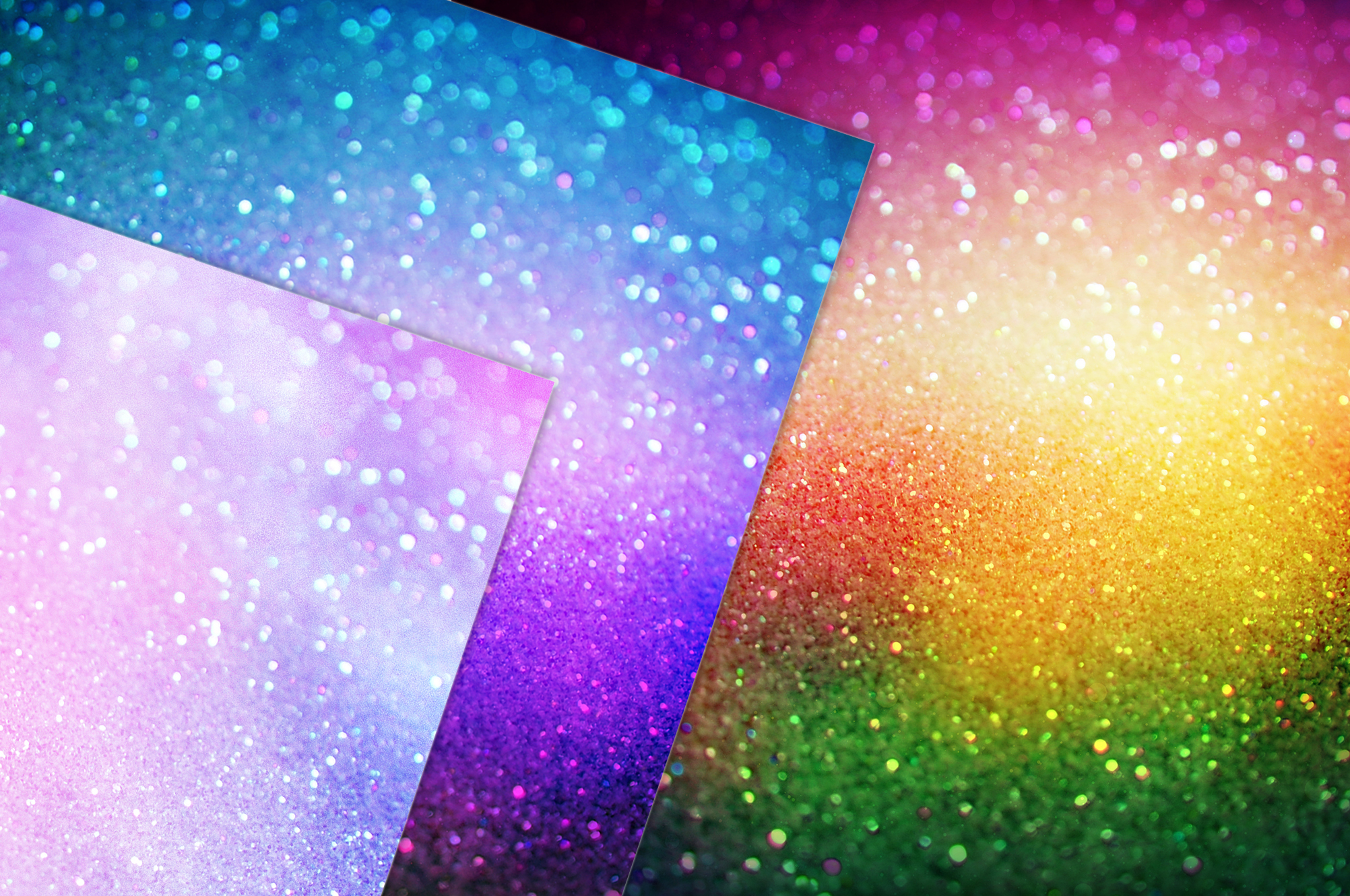 Iridescent Glitter and Foil Textures example image 14