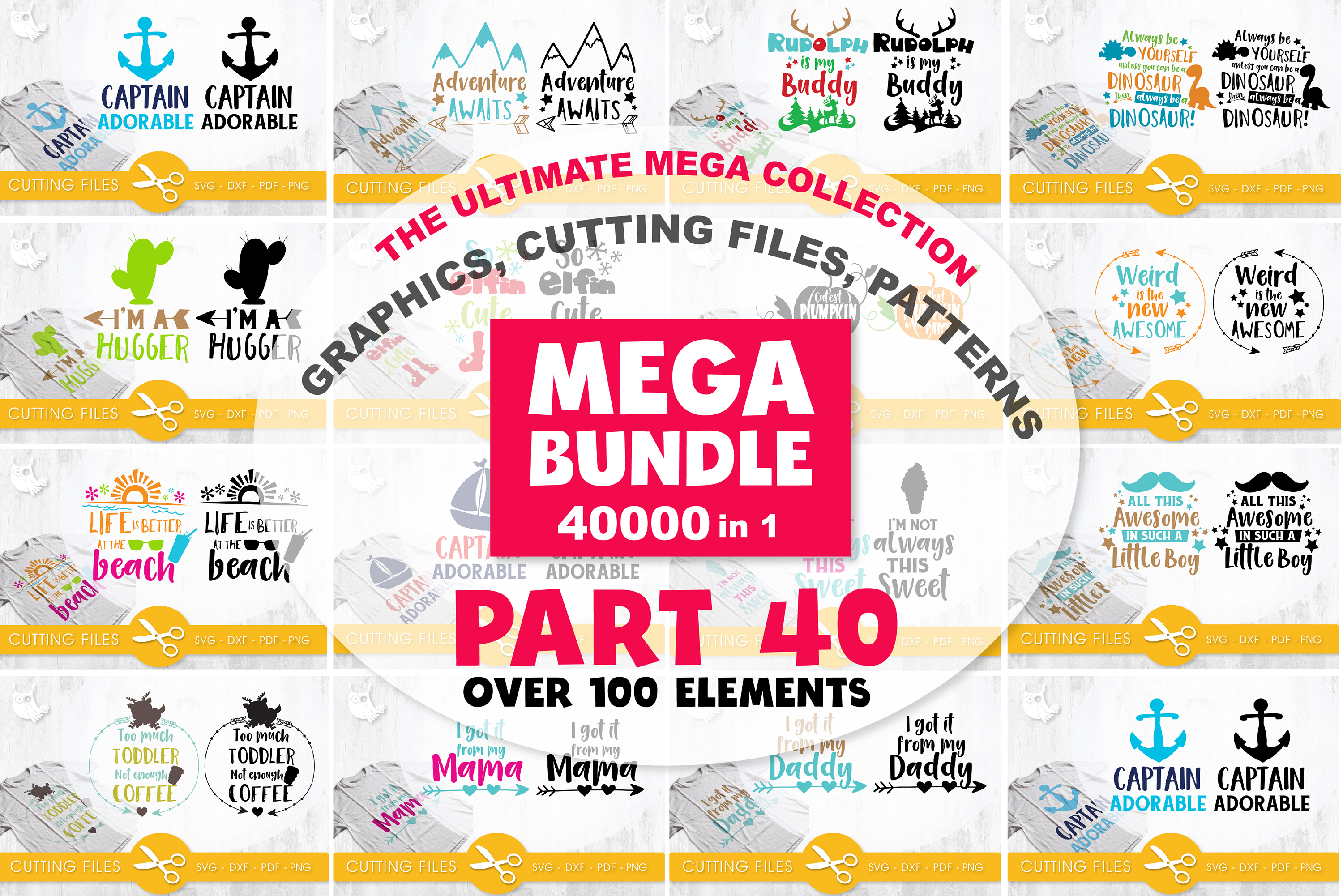 MEGA BUNDLE PART40 - 40000 in 1 Full Collection example image 3