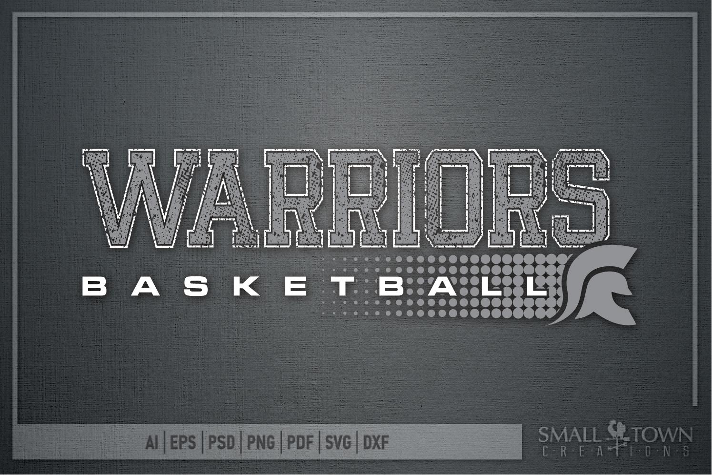 Warriors Basketball, Team, Sports, Logo, PRINT, CUT & DESIGN