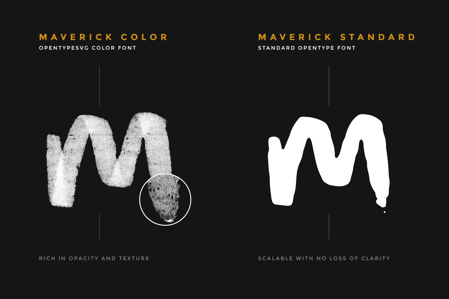 Maverick Brush and SVG Font example image 3