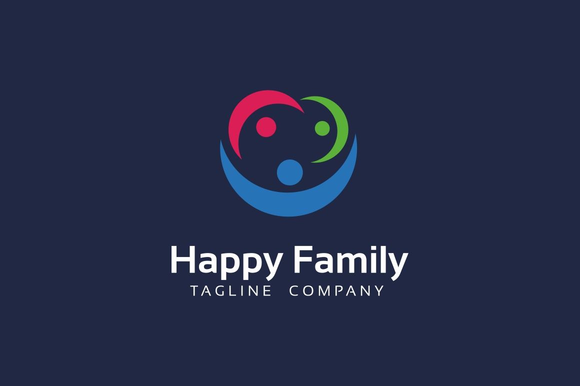 Happy Family Logo example image 2