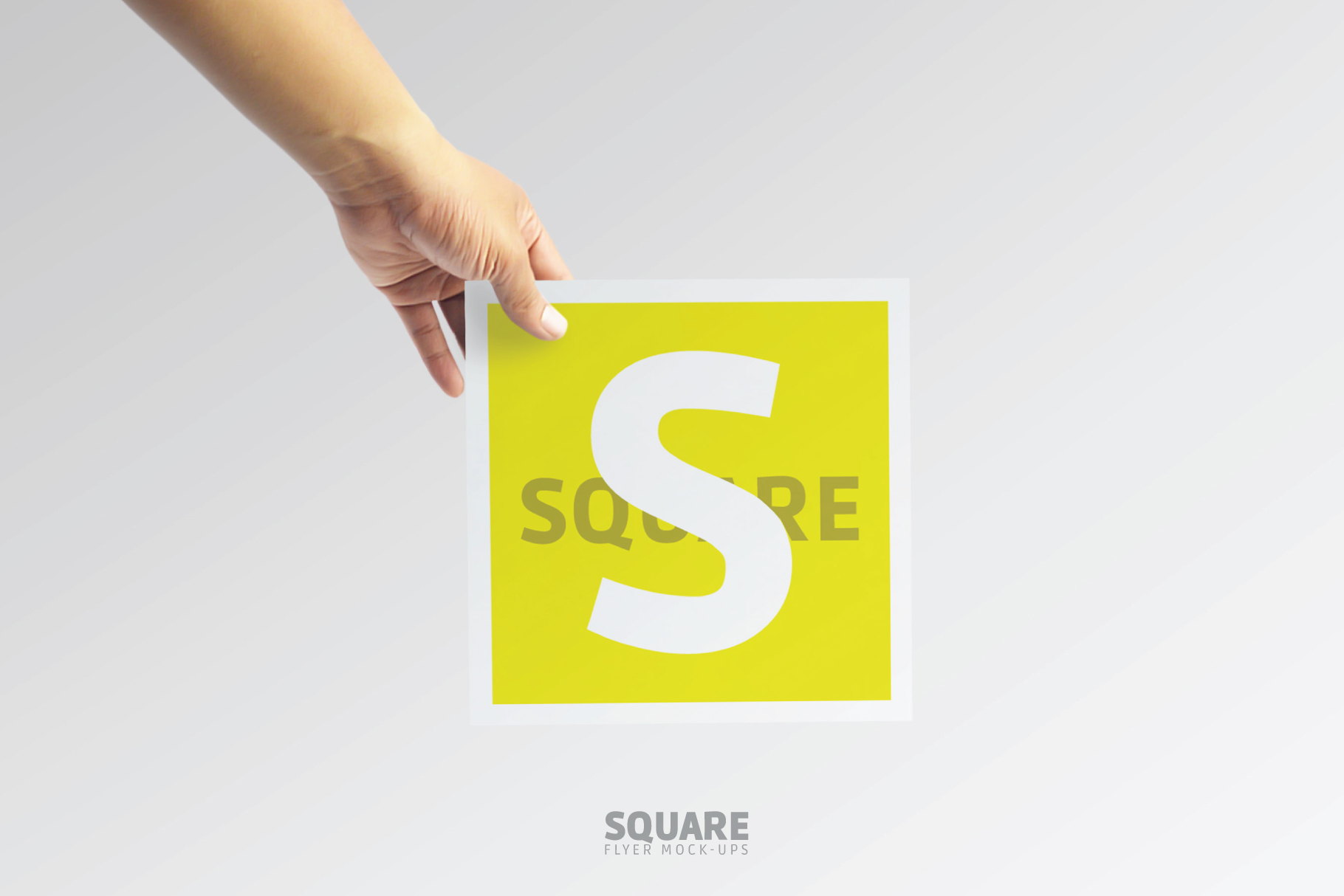 Square Flyer Mock-Up example image 6