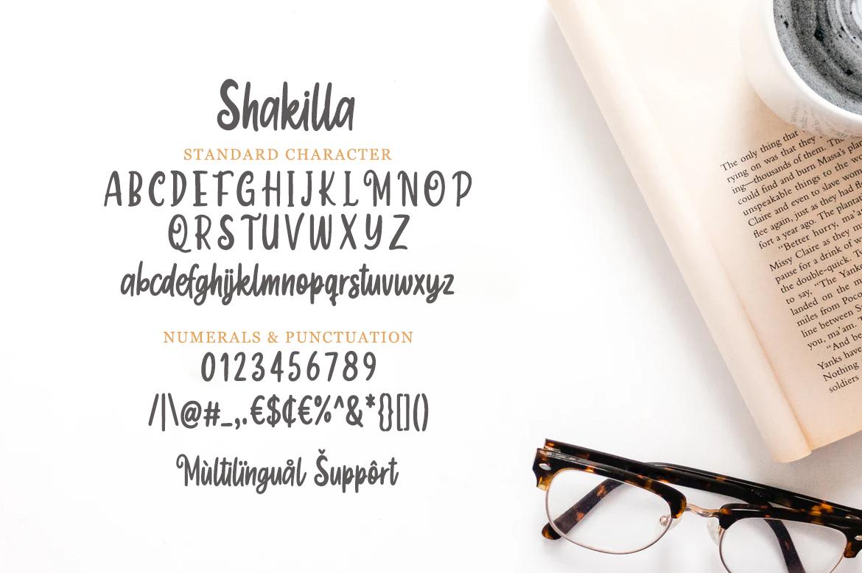Shakilla - Funny Script example image 6