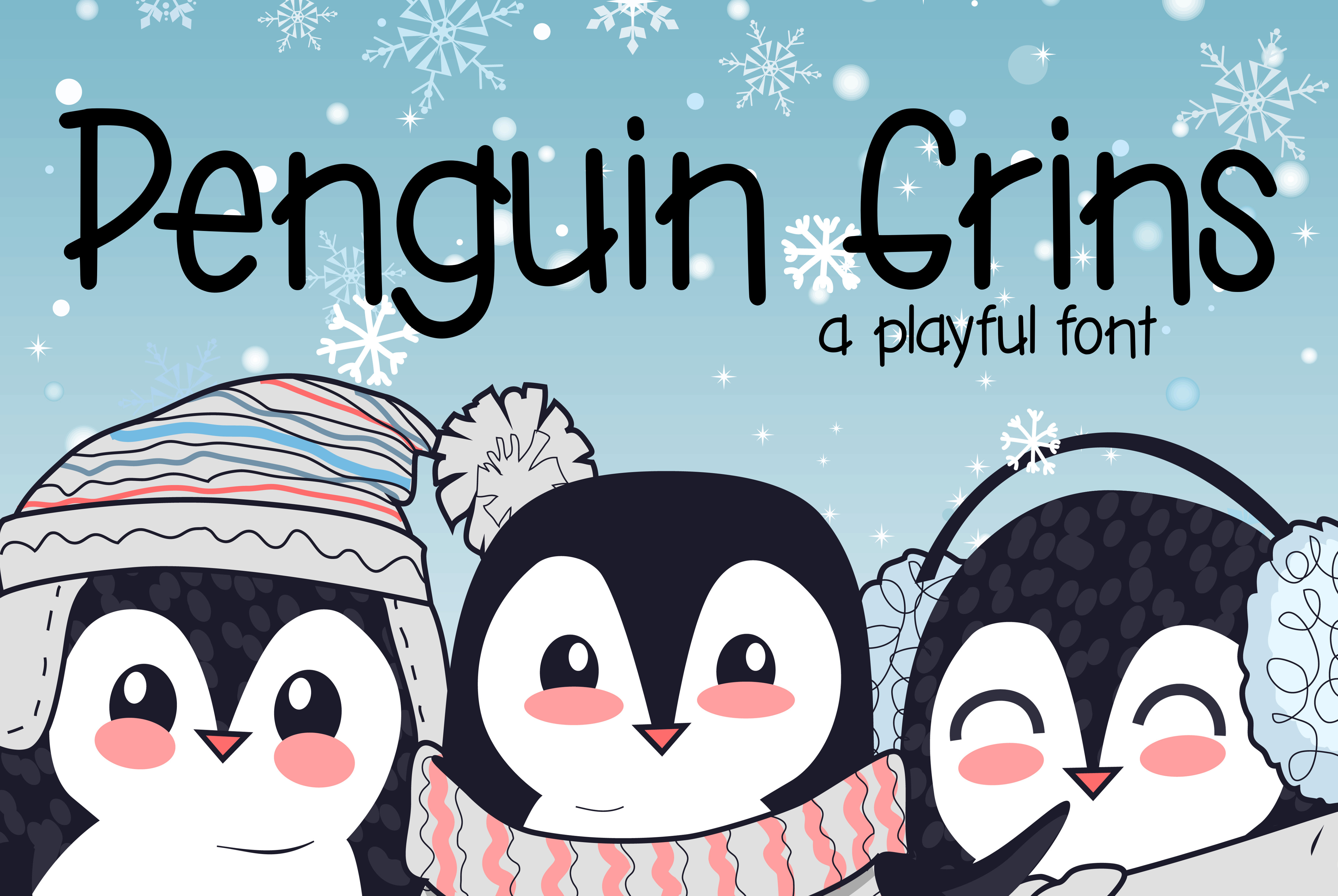 Penguin Grins example image 1