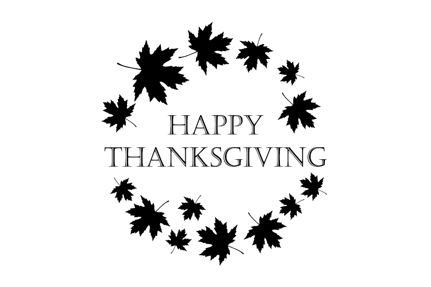 Set of 6 seamless vector backgrounds and 6 posters Thanksgiving Day. example image 2