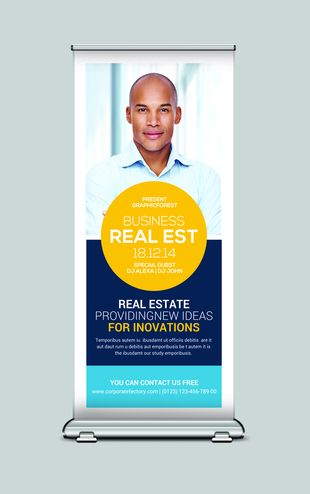 Real Estate Rollup Banner example image 2