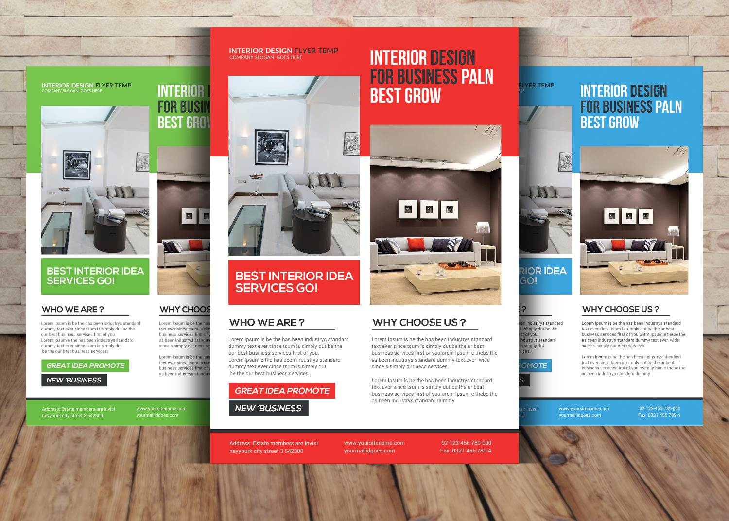 Multipurpose Business Flyer Bundle example image 5