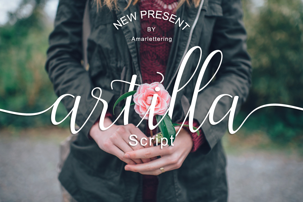 The Amarlettering Bundles Vol. II ONLY $5 example image 2