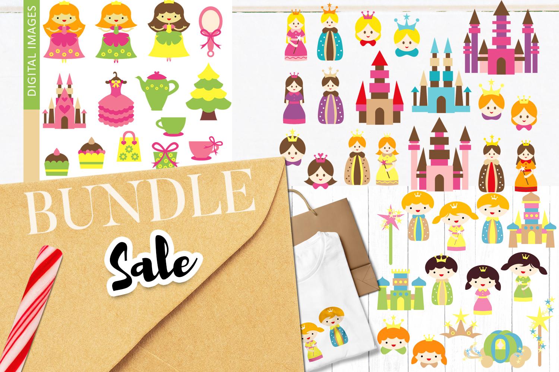 Just For Girls Clip Art Illustrations Huge Bundle example image 17