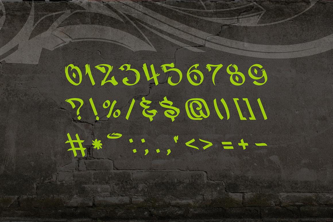 Vandal | Graffiti Font example image 3