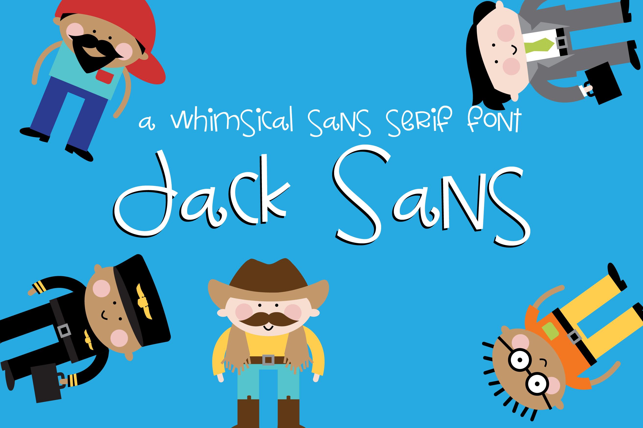 PN Jack Sans example image 1