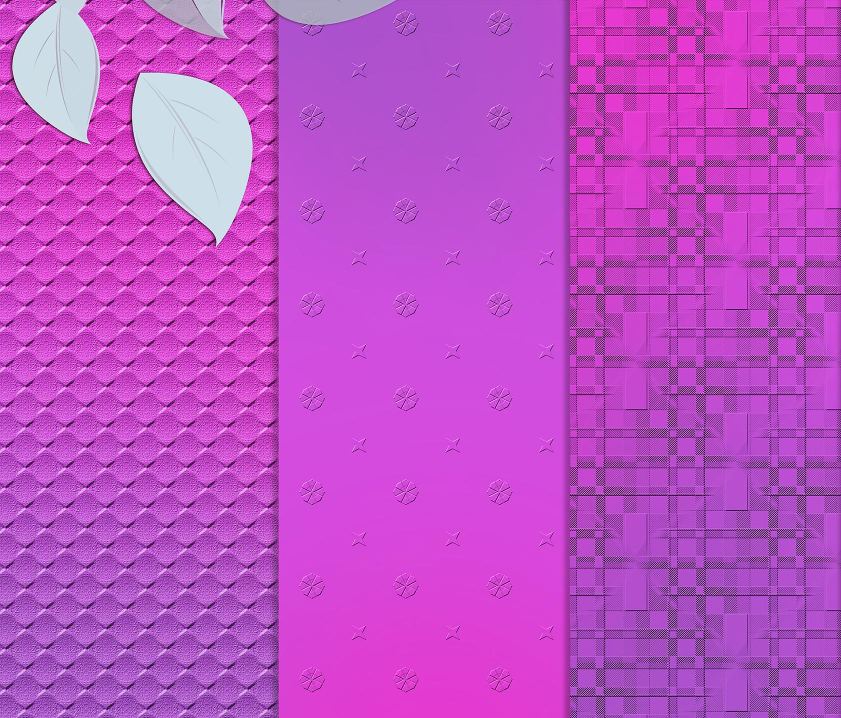 Purple-blue abstract textures, Digital Scrapbook Paper example image 3