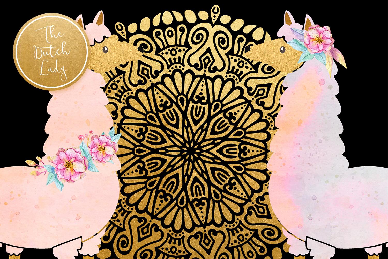Enchanted Boho Desert Clipart Set example image 2