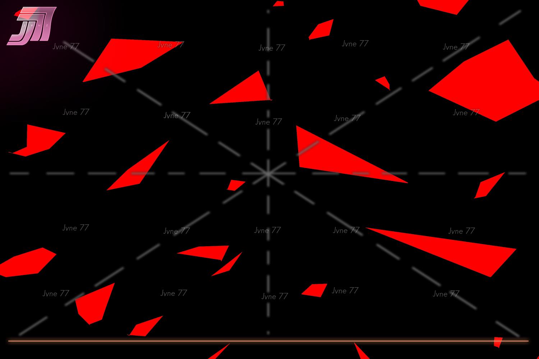 Retrowave NEON Flakes Scene Generator example image 8