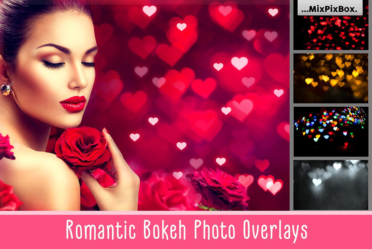 Romantic Bokeh Photo Overlays example image 1