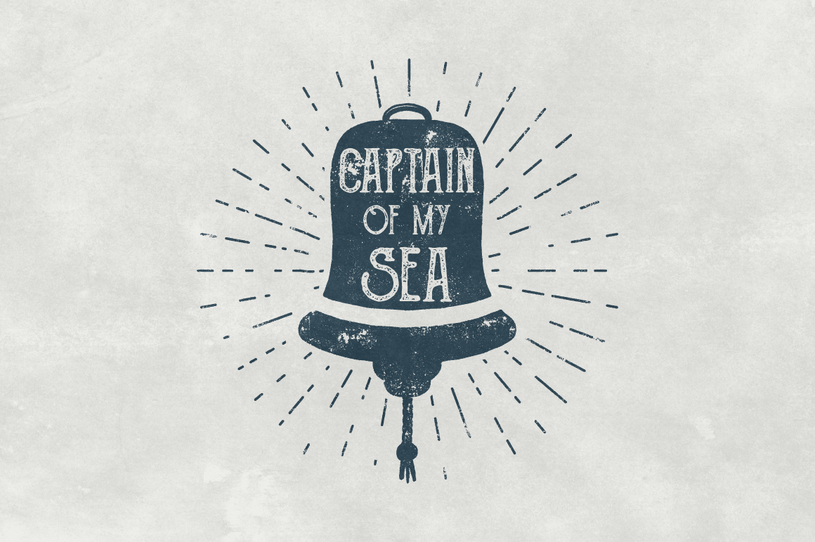 Vintage Nautical Logo Collection example image 3