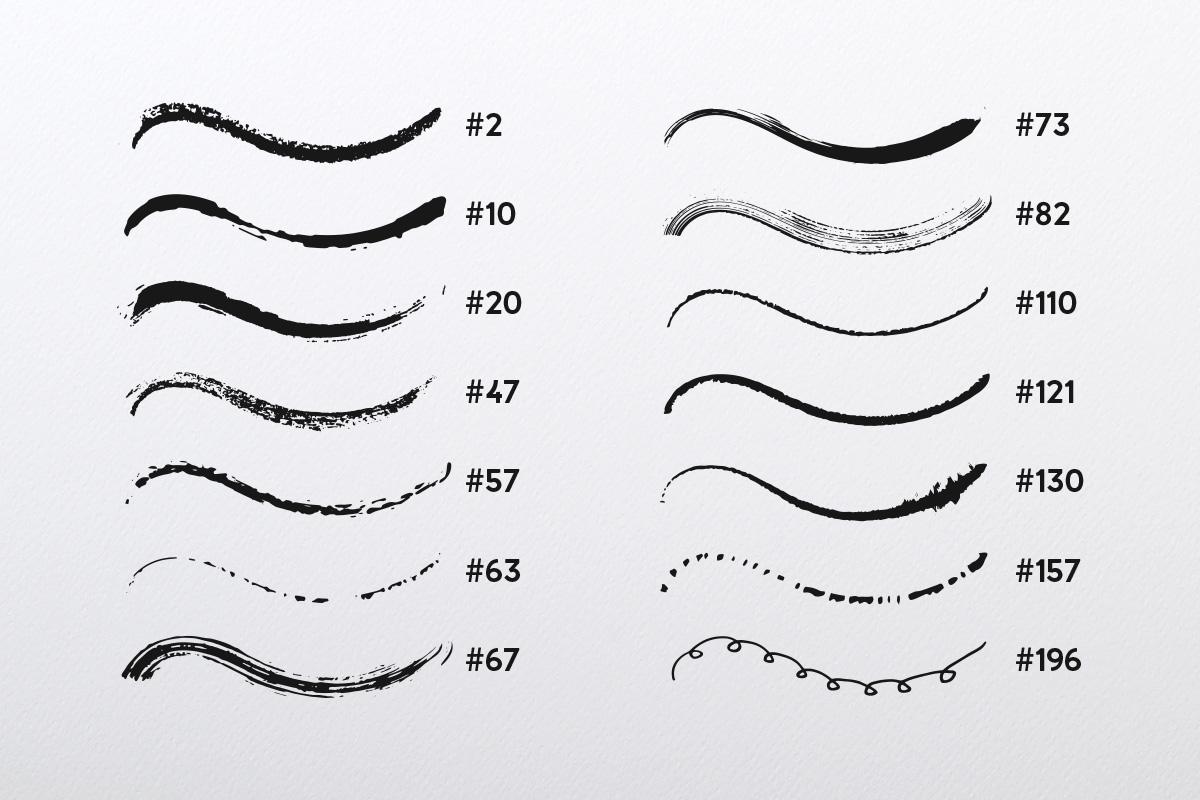 Illustrator's Ultimate Brush Pack example image 2