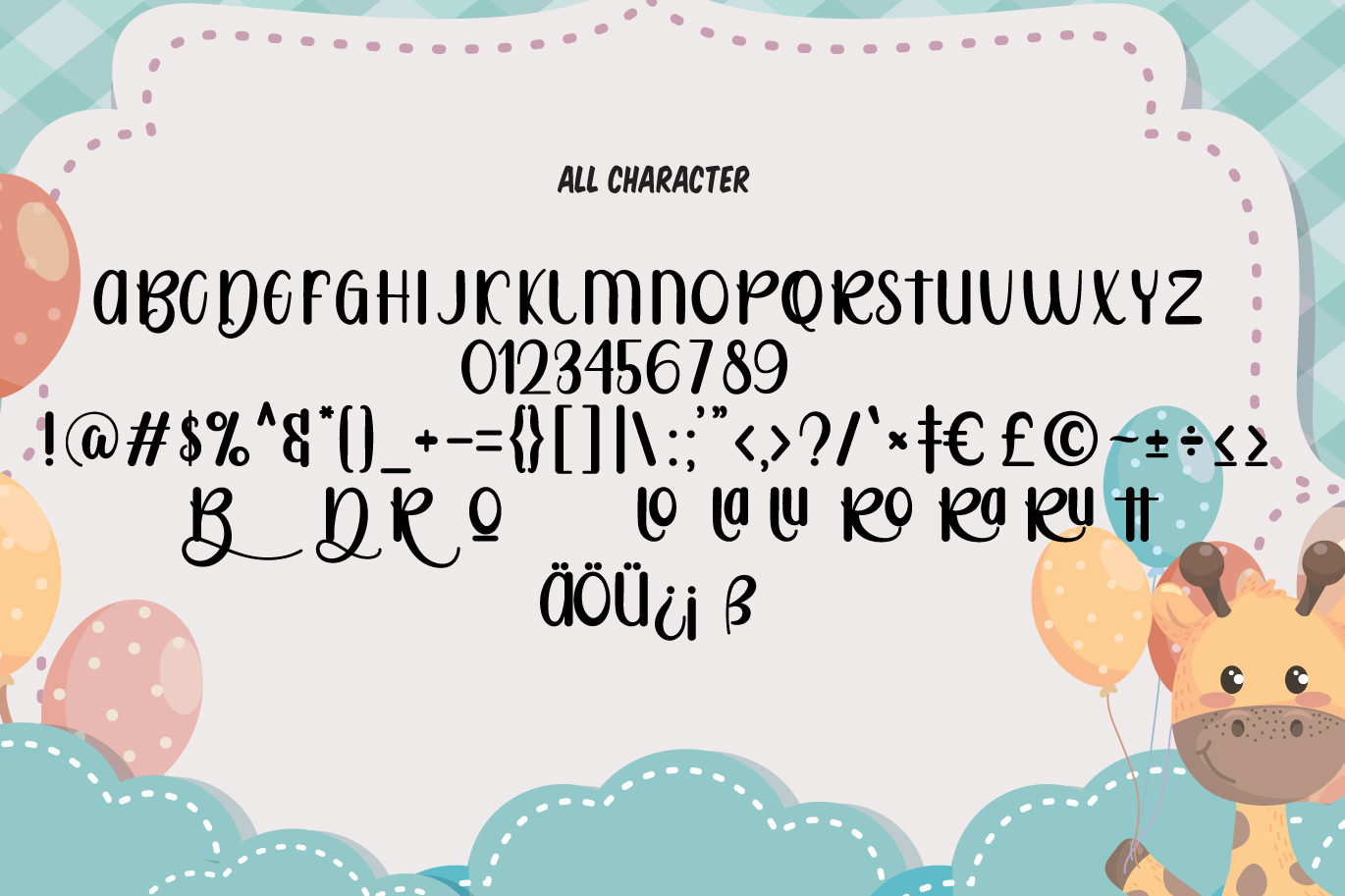 Rotter Bradly | A Playful Sans example image 6