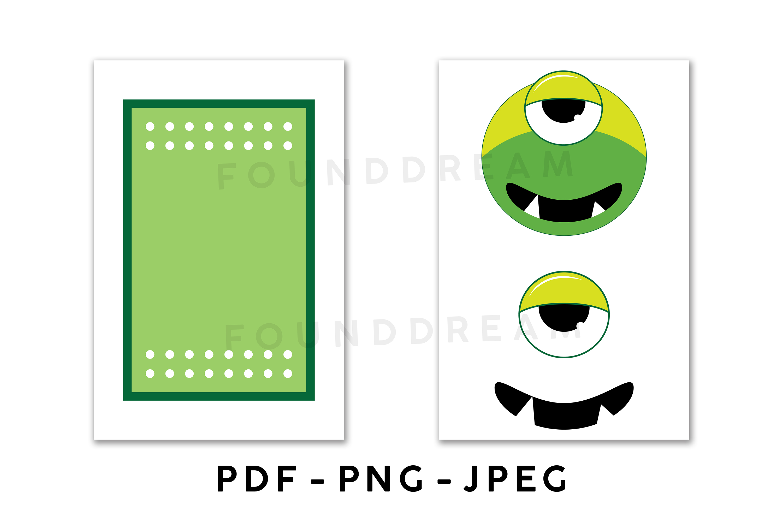 Favor Bag Template | PDF | PNG | JPEG example image 3